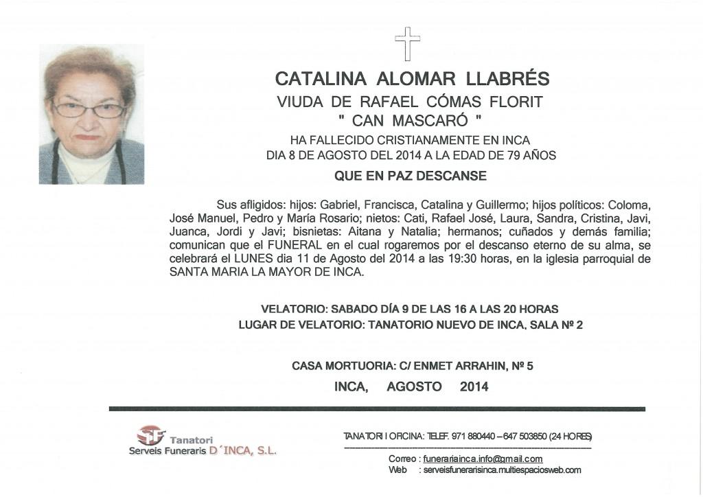 Catalina Alomar LLabrés
